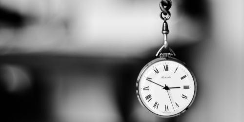 時間への意識