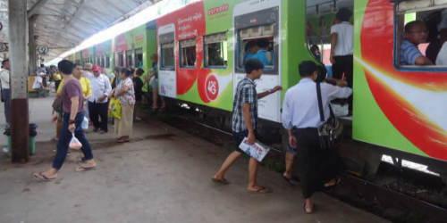 ヤンゴン環状線の旅