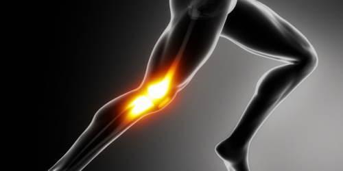 膝の急激な痛み