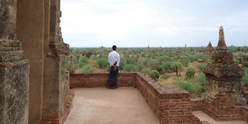 バガン観光のクライマックス