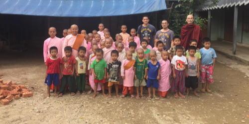 比丘尼の方が運営されている孤児院
