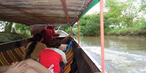 ミャンマーの『森の僧院』を訪問する